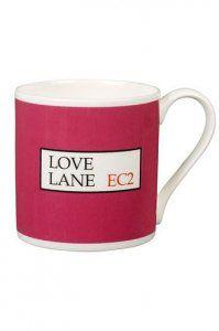 Love Lane mug
