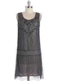Image result for vintage silver dress