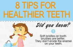 Infographic: 8 tips for healthier teeth | Articles | Main