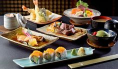 fine dining - Google Search Restaurant Pictures, People Eating, Japanese Food, Fine Dining, Bento, Sushi, Stuffed Mushrooms, Presentation, Cheese