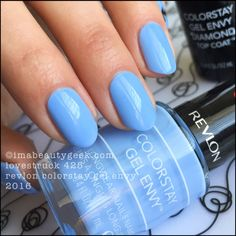 New from Revlon nails for 2016 comes a revamped Gel Envy Diamond Top Coat & other assorted nail goodies. Revlon Gel Envy, Revlon Nail Polish, Cute Nail Polish, Nail Polish Colors, Cute Nails, My Nails, Gel Polish, Mani Pedi, Manicure And Pedicure