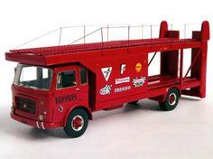 ABC143 - OM 150 BISARCA Transporteur FERRARI car 1971 SHORT WHEELBASE