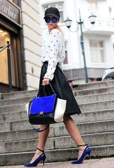 20 Black and White Spring Fashion Styles