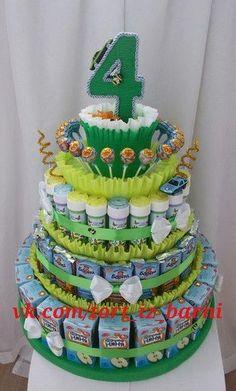 Kuchen von Kinder, Süßigkeiten, Säfte, Barney. Mosk ... #barney #igkeiten #kinder #kuchen #originalgiftideas #safte