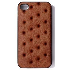 Ice Cream Sandwich case for iphone 4/4s. Yummy! No drips! No calories!  #gadgets #cool #iphone #case #icecream #funny