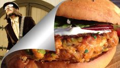 "Hamburger di salmone ""John the Fisherman"" by  Enrico Salvini - John the Fisherman Salmon Hamburger"
