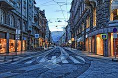 Innsbruck, Austria HDR
