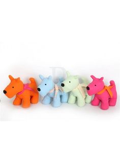 Bright Dog Doorstops Mix  @ rosefields.co.uk