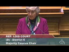 What Rep. Lois Court Thinks of Community College Students - YouTube