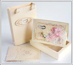 Мade with love: Свадебная открытка для денежного подарка