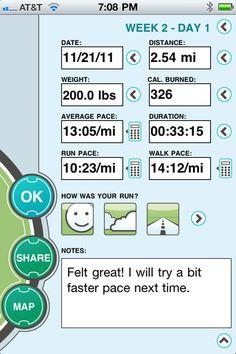 great 5k training iPhone app