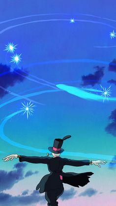 Howl's Moving Castle, Howls Moving Castle Wallpaper, Hayao Miyazaki, Studio Ghibli Art, Studio Ghibli Movies, Cute Cartoon Wallpapers, Animes Wallpapers, Scenery Wallpaper, Wallpaper Backgrounds