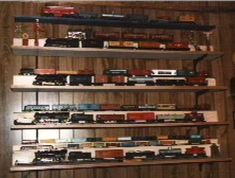 Lionel, American Flyer, HO, and N Scale Trains.
