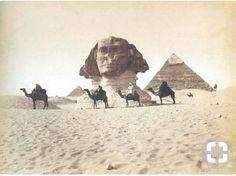 Le Sphinx avant...