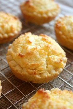 Hong Kong style Coconut Tarts Buttery sweet pastry crusts filled with fluffy, sticky coconut filling. Coconut Tarts – a classic Hong Kong bakery treat. Coconut Recipes, Tart Recipes, Sweet Recipes, Baking Recipes, Dessert Recipes, Meal Recipes, Healthy Recipes, Sweet Pie, Sweet Tarts