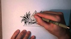 How to Doodle: Cool Mysterious Stuff [Speed Edit]   love watching it again and again.