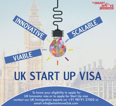 The UK Startup visa will be the new route for prospective entrepreneurs coming into the UK and in some ways is an extension of the existing Tier 1 (Graduate Entrepreneur) Visa, which allows non-EU graduates from UK universities to remain in the country. Our expert UK immigration consultants are happy to offer their services to anyone looking to migrate to the UK on a Tier 1 Entrepreneur Visa, you can Call/Whatsapp on +91 9819127002 | email info@smartmove2uk.com Uk Universities, About Uk, Knowing You, Entrepreneur, How To Apply, Country, Happy, Rural Area, Ser Feliz