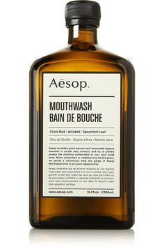 Gifts for men. // AESOP bain de bouche (sounds better in French)