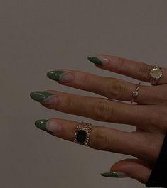 Frensh Nails, Swag Nails, Hair And Nails, Nagellack Design, Acylic Nails, Nail Jewelry, Jewellery, Funky Nails, Edgy Nails