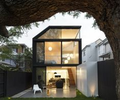 Cosgriff House is a minimalist house located in Sydney, Australia, designed by Christopher Polly.
