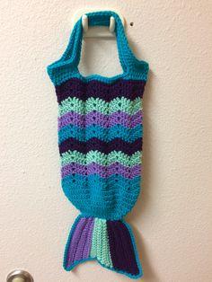 Mermaid tail purse - Mermaid tail bag - Mermaid tail tote - Mermaid purse - Mermaid bag - Mermaid tote - Mermaid handbag