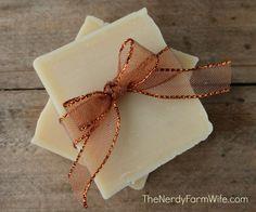 How to Make Palm Free Kombucha Soap