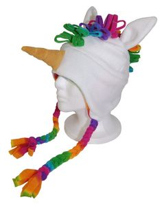 Dreami the Unicorn hat at PingiHats.