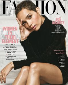 Cover girl: Zoe Kravitz covers Canada's Fashion Magazine for their March 2018 issue Zoe Kravitz hopes to encourage change in the entertainment industry to help stop sexual harassment. She also opened up about working on Big Little Lies. Short Pixie Haircuts, Pixie Hairstyles, Short Hair Cuts, Black Pixie Haircut, Blonde Pixie Cuts, Super Short Hair, Straight Hairstyles, Pixie Styles, Curly Hair Styles