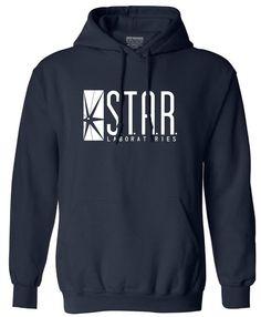 buy on wallmart.win autumn brand hoodies superman series men hoody STAR S.T.A.R.labs jumper the flash gotham city comic books black…