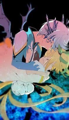 Half-Dragon mikleo and edna