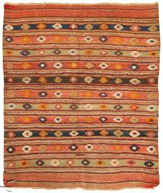 turkish-rug-fethiye-kilim--1.jpg (841×1000)   For sky lounge?   Size to be 3.5 meters x 3.5 meters , or 3 x 4 meters see http://www.altai.it/   for gallery in MILAN
