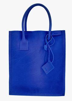 Big blue bag