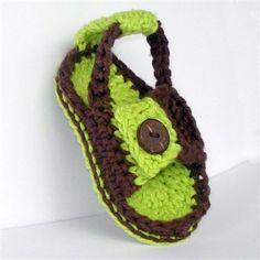 Baby Sandal Crochet Pattern heel strap - Crochet Me