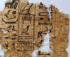 "Hieroglyphics found as part of discovery of ""world's oldest port"" in Egypt. They include details of the arrangements for getting bread and beer to the workers heading out from the port. One tells of an official named Merrer, who was involved in building the Great Pyramid of Giza"