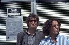 István Lugossy and András Szirtes film directors (Lacoste 1992)