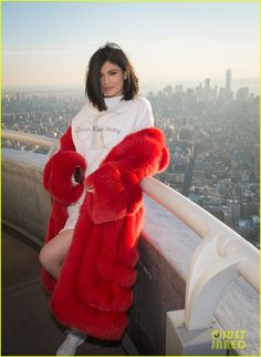 Kylie Jenner & Tyga Celebrate Valentine's Day on Top of the Empire State Building | kylie jenner tyga celebrate valentines day at empire state building 02 - Photo