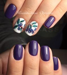 Because I love purple #nailsoftheday#nailsofinstagram