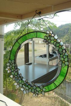 静岡のステンドグラス工房かわもとの作品:ランプ小物