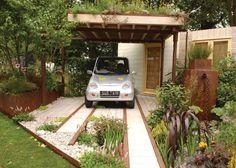 Wendy Allen Design - Hampton Court 2009 - permeable driveway show garden