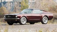 1964 1/2  Ford Mustang shorty factory prototype
