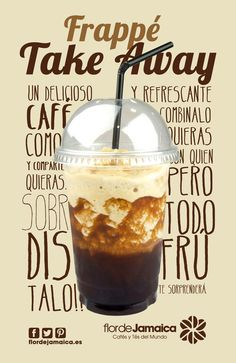 Frappes Take Away by Flor de Jamaica French Press, Coffee Maker, Kitchen Appliances, Coffee Maker Machine, Diy Kitchen Appliances, Coffee Percolator, Home Appliances, Coffeemaker