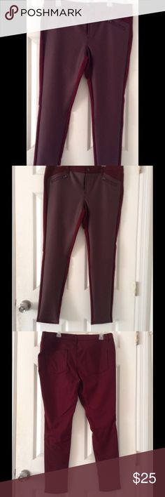 Stretch Extensible Burgundy Pants Brand new with out tag never been worn burgundy pants. Stretch extensible. Pants