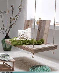 a person chair swing..love it