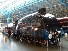 Mallard steam locomotive. National Railway Museum, York