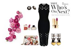 """""""Untitled #26"""" by sherry-mb ❤ liked on Polyvore featuring McQ by Alexander McQueen, Valentino, Gucci, Yves Saint Laurent and Kate Spade"""