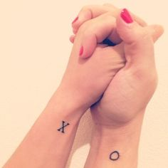 31 Insanely Cool And Adorable Matching Tattoos For Twins (I'm thinking even just for siblings some of these could work, and even for best friends ^_^ )