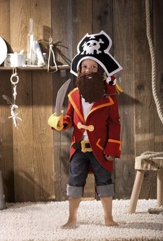 HABA Pirate costume for kids. So fun!