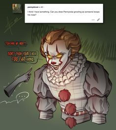 Venom Comics, Pennywise The Dancing Clown, Cool Anime Pictures, Horror Monsters, Mini Comic, Cute Dinosaur, Creepy Art, You Draw, Horror Films