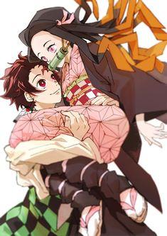Twitter Chica Anime Manga, Anime Kawaii, Anime Art, Demon Art, Anime Demon, Demon Slayer, Slayer Anime, Teen Titans, Log Horizon