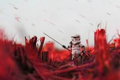 Red means Rage  #toys photography #starwars #stormtrooper